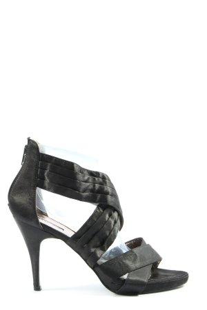 La Strada High Heel Sandaletten schwarz Elegant