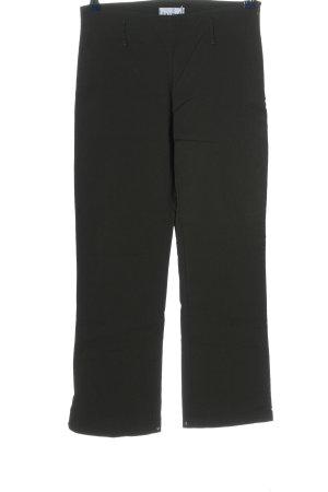 La Strada Pantalón de cintura alta negro look casual
