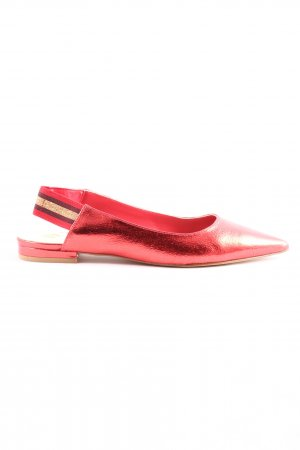 La Strada Comfortabele sandalen rood zakelijke stijl