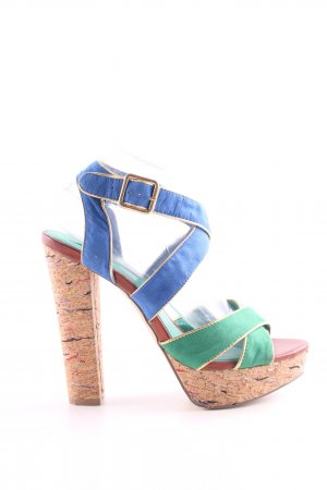 La Strada Plateau-Sandaletten mehrfarbig Elegant