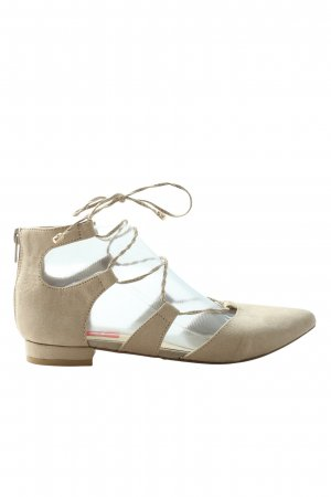La Strada Strappy Ballerinas natural white casual look