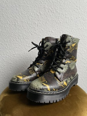 La Strada Stiefel Biker Boots Reptiloptik Gr. 40