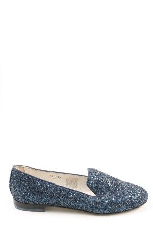 La tenace Pantofel niebieski W stylu casual