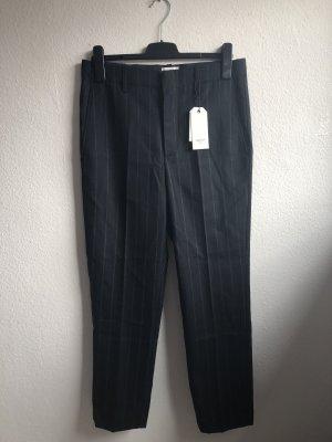 LAB DIP Woolen Trousers dark blue-green