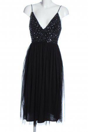 Lace & Beads Abendkleid schwarz Elegant