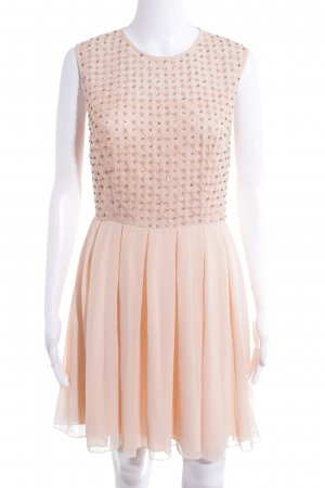"""Lace & Beads Abendkleid """"e"""" nude"""