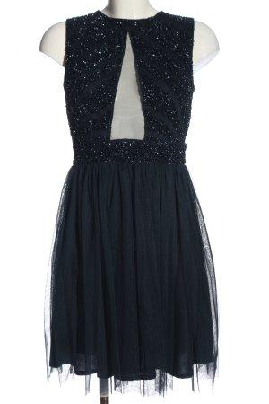 Lace & Beads Suknia balowa czarny Elegancki