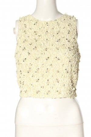 Lace & Beads Cropped Top