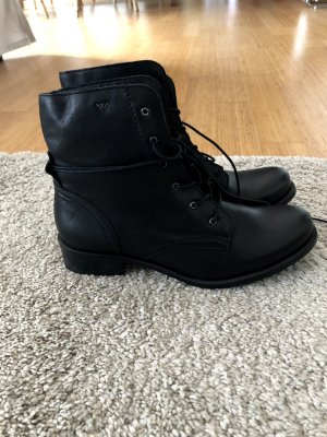 Lace up  Boots Never worn Leather