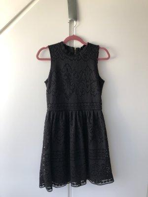 H&M Vestido babydoll negro