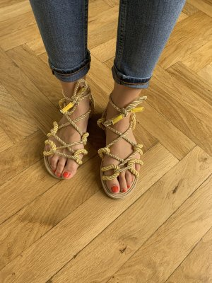 Roman Sandals primrose-gold-colored