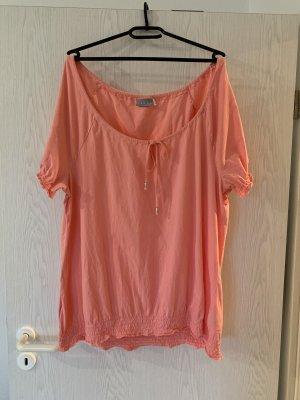 Lachsfarbende C&A Bluse