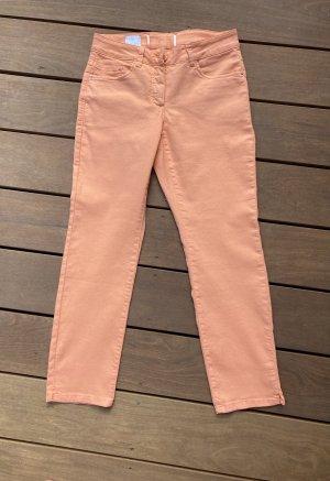 Madeleine Tube Jeans apricot-salmon