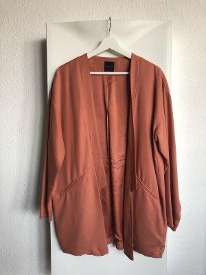 Lachsfarbener Oversized Blazer von Selected Femme in Gr. 38