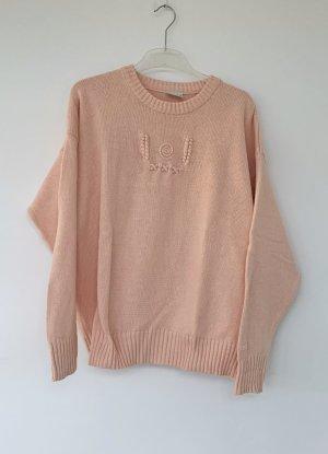 lachsfarbener Pullover von Mac O'Polo, Größe M