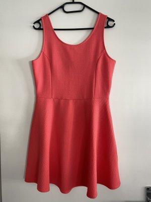 H&M Mini Dress salmon