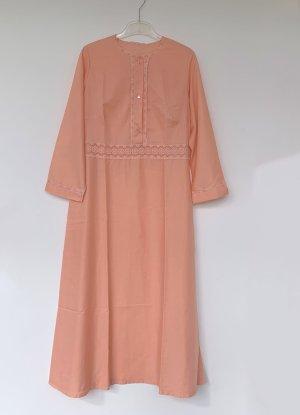 lachsfarbenes langes Nachthemd, langarm, Triumph, Gr. 44-46