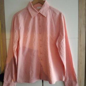 lachsfarbige Bluse