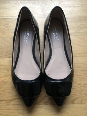Carvela Ballerinas with Toecap black