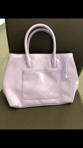 Lack Handtasche von Esprit, Maße: 26x19x 9cm,super Zustand
