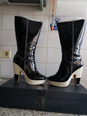 Lack Leder  Stiefel gr 39 von Roberto Botella