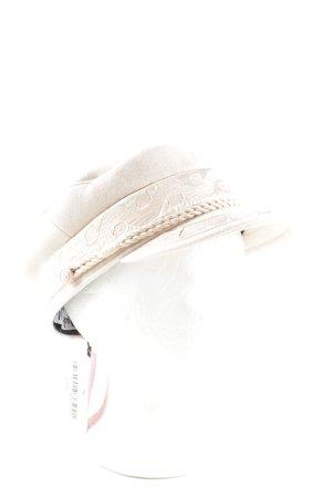 Lack of Color Baker's Boy Cap natural white elegant