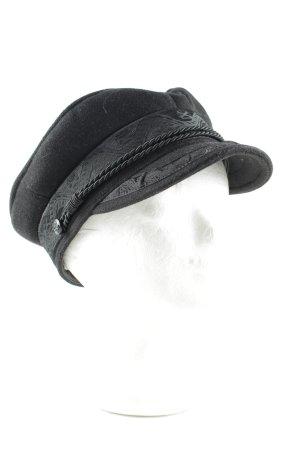 Lack of Color Baker's Boy Cap black elegant