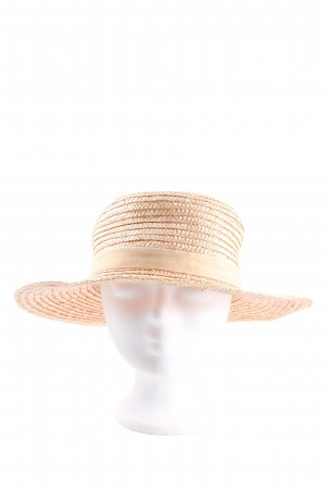 Lack of Color Straw Hat cream casual look