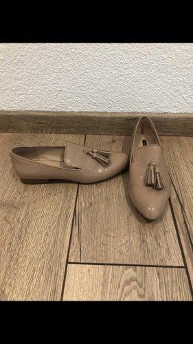 Mango Zapatos formales sin cordones beige
