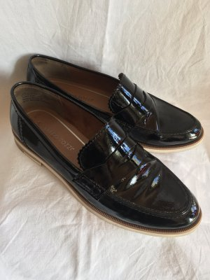 Marco Tozzi Patent Leather Ballerinas black imitation leather