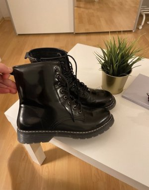 Galaria Kaufhof Lace-up Booties black