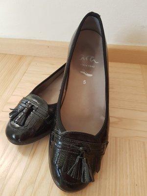 ara Patent Leather Ballerinas black