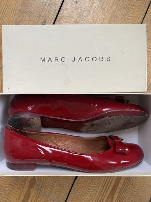 Marc Jacobs Patent Leather Ballerinas bordeaux