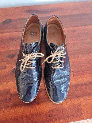 Gabor Chaussure Oxford bleu-bleuet