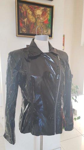 Lackjacke schwarz Versace in Größe 38