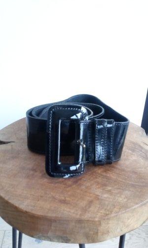 Cintura di pelle nero