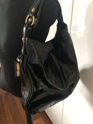 Escada Bolsa Hobo negro