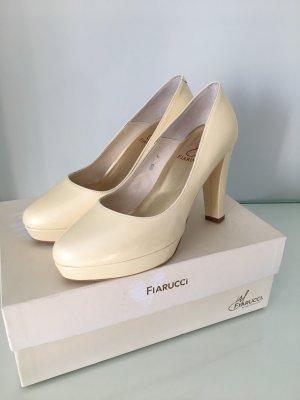 Nina Fiarucci Décolleté con plateau crema