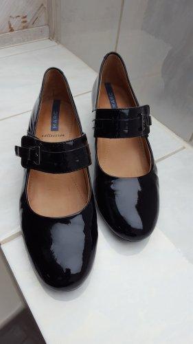 MARC Shoes Escarpin à boucle noir