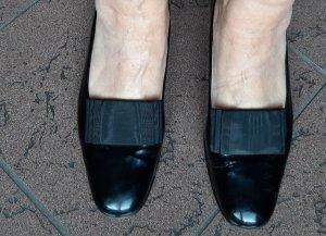 Gabriele Ballerines en cuir verni noir