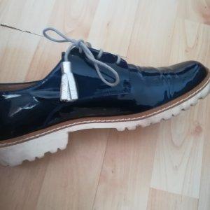 Gadea Zapatos estilo Oxford azul oscuro