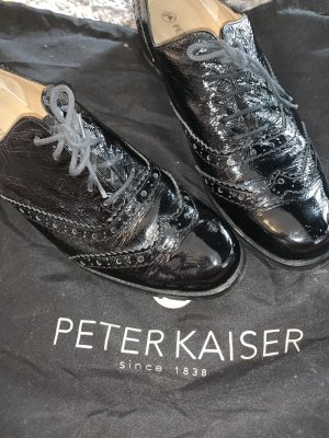 Peter Kaiser Wingtip Shoes black