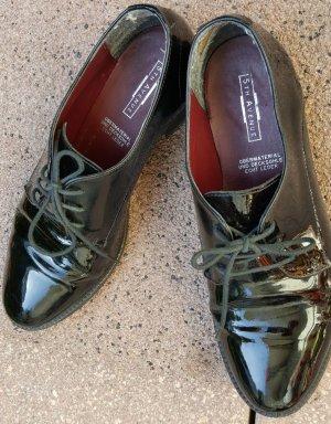 Lackschuhe/Schnürer/Derby Schuhe Gr.37