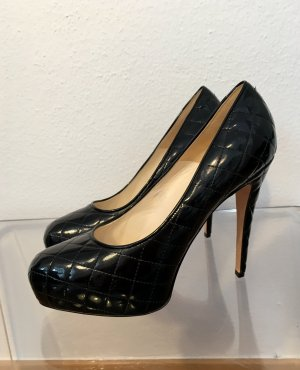 Brian Atwood Platform Pumps black