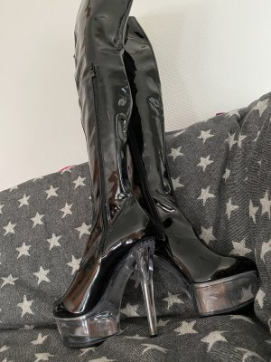 A-Zone High Heel Boots black