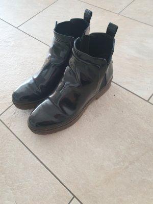 Zara Slip-on Booties black