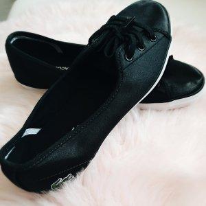 Lacoste Ballerina gr. 39 satin schwarz