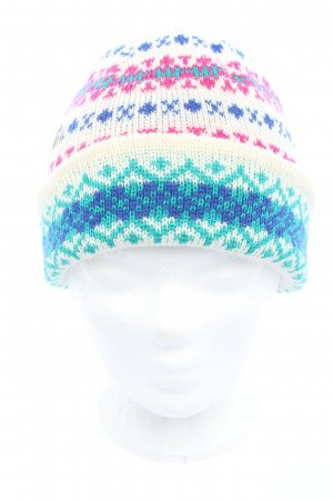 Lacoste Beanie Allover-Druck Casual-Look