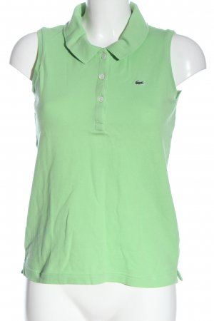 Lacoste Polotop groen casual uitstraling