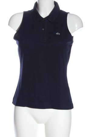 Lacoste Polotop blauw casual uitstraling